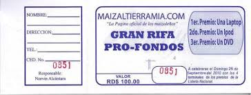 Boletos De Rifas Para Imprimir Gratis Imagui Rifa Juan