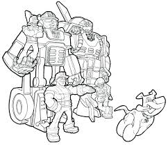 Transformer Rescue Bots Coloring Pages Rescue Bot Coloring Pages