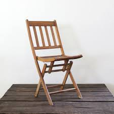 i totally love these old wood folding chairs wood folding chair vintage wood slat folding chair by