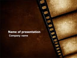Movie Powerpoint Template Movie Strip Presentation Template For Powerpoint And Keynote