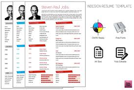 Gallery Of Adobe Indesign Resume Template On Behance Indesign