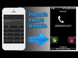 How To Make Free Calls From Pc To Phone Youtube