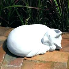 garden cats statues garden cats statues cat statues for the garden cat sleeping statue kitten sculpture concrete gray cast outdoor garden cat statues