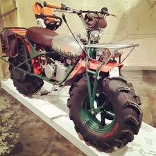 tricked out rokon motorcycle from the 1 motorcycle show in