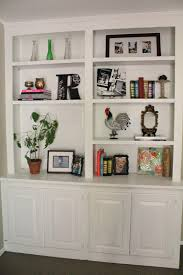Decorations:Storage Inspiration Lovable White Wooden Microwave Shelf With  Book Shelves Ideas Stunning White Wooden