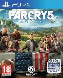 Far Cry 5 Is The New Uk Number One Games Charts 31 March