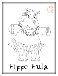 Hippopotamus Coloring Page 8 11892 Fantasia Hippo Pages Chronicles