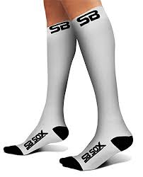 Sb Sox Size Chart Sb Sox Compression Socks 20 30mmhg For Men Women Best Stockings For Running Medical Athletic Edema Diabetic Varicose Veins Travel