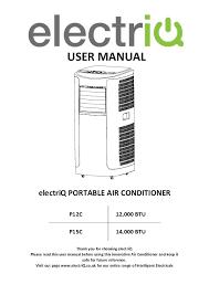 electriq manuals datasheets