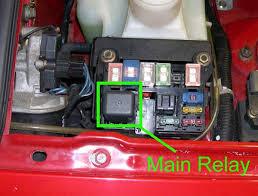 main relay location miata turbo forum boost cars, acquire cats 91 Miata Fuse Box Diagram main relay location fusebox jpg main relay location mainrelay jpg 1991 miata fuse box diagram
