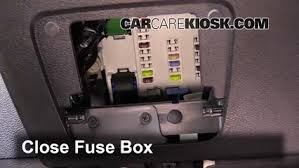 interior fuse box location 2014 2016 jeep cherokee 2014 jeep test component secure the cover and test component