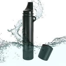survival water purifier. Ideapro Portable Water Filter, 1500L Personal Filtration Bottle Straw Purifier Field Survival Gear E