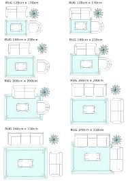 area rug sizes standard typical guidelines placement on living room rugs size for non large bedroom