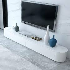 cabinet modern minimalist fashion creative small apartment living room painted tempered glass tv stand