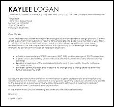 Architectural Drafter Cover Letter Sample Cover Letter Templates