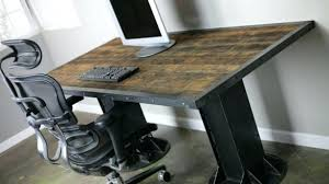 furniture industrial style. Industrial Style Desk It Guideme Pertaining To Rustic Decorating Furniture: Furniture