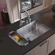 Stainless Steel Kitchen Stainless Steel Kitchen Sink Faucet Colander Grid Strainer And