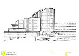 architectural buildings drawings. Beautiful Buildings Drawn Building Architectural Drawing On Architectural Buildings Drawings