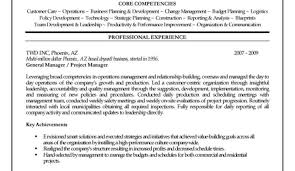 Operation Manager Sample Resume Template Operations India ...