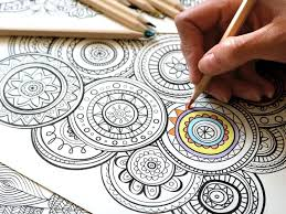 Color the pictures online or print them to color them with your paints or crayons. Art Meditation 18 Free Coloring Pages For Adults Lonerwolf
