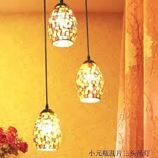 mosaic pendant light s mosaic glass pendant lamp shade
