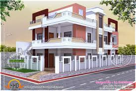 Home Outside Design India Floor Plan Of North Indian House Indian House Exterior
