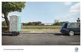 vw park assist nightmare spots wakelampringle inspiring ads  press ad