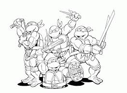 Small Picture Ninja Turtles Coloring Pages Free Coloring Pages For KidsFree