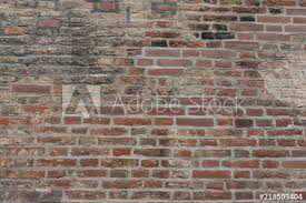 red brick wall as background wallpaper