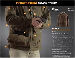 echo one conceal carry jacket