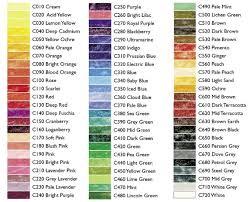 Derwent Coloursoft Color Chart Derwent Colorsoft Pencils Review