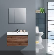 Modern Bathroom Vanity Aqua Decor Venice 36 Inch Modern Bathroom Vanity Set W Medicine