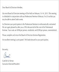 Meeting Announcement Template Business Ation Letter Sample To E For A Meeting Conference