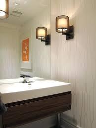 powder room lighting good looking crate and barrel lighting mode modern powder room decoration ideas with powder room lighting