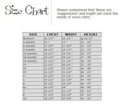 Lulu Line Ids Size Chart