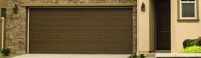 brown garage doorsClassic Steel Garage Doors 9100 9605
