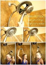 in2ition shower heads delta shower head replacement parts two in one and my personal hygiene in2ition