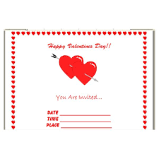 How To Create Invitations On Word How To Make Your Own Valentines Day Invitations In