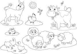 animal coloring worksheets 2. Exellent Worksheets Farm Animal Coloring Pages 2   On Animal Coloring Worksheets