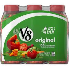v8 original 100 vegetable juice 12 oz bottle pack of 6 walmart