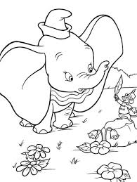 Small Picture Dumbo Coloring Pages to download and print for free