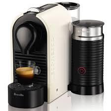 Nespresso U Machine Breville Nespresso Umilk White Coffee Machine Peters Of