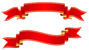 Red Ribbon Design Craft Banner Templates Ribbon Banner Template Clipart