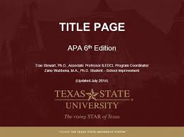 Apa Powerpoint Template The Highest Quality Powerpoint