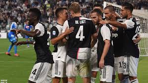 Italian super cup date : Hasil Pertandingan Serie A Italia 2019 20 Juventus Vs Napoli Indosport