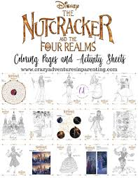 The Nutcracker And The Four Realms Coloring Pages And Activity