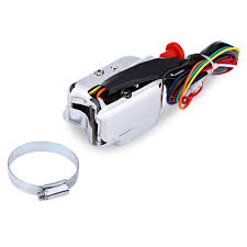 popular switch diagram wiring buy cheap switch diagram wiring lots universal street hot rod turn signal chrome switch 7 wires and a wiring diagram for