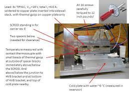 carrier thermocouple. 2 load: carrier thermocouple