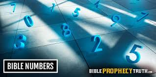 Bible Numerics Chart Bible Numbers Topics Bible Prophecy Truth