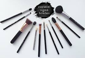 sigma essential brushes sigma beauty essential brushes